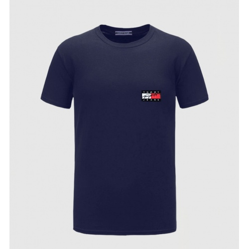 Tommy Hilfiger TH T-Shirts Short Sleeved O-Neck For Men #771820 $26.19 USD, Wholesale Replica Tommy Hilfiger TH T-Shirts
