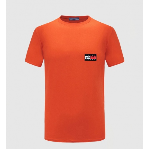 Tommy Hilfiger TH T-Shirts Short Sleeved O-Neck For Men #771821 $26.19 USD, Wholesale Replica Tommy Hilfiger TH T-Shirts