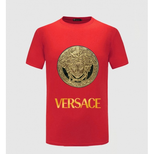 Versace T-Shirts Short Sleeved O-Neck For Men #771870 $26.19, Wholesale Replica Versace T-Shirts