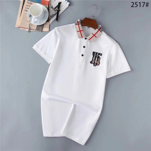 Burberry T-Shirts Short Sleeved Polo For Men #771893
