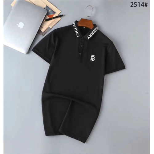 Burberry T-Shirts Short Sleeved Polo For Men #771908