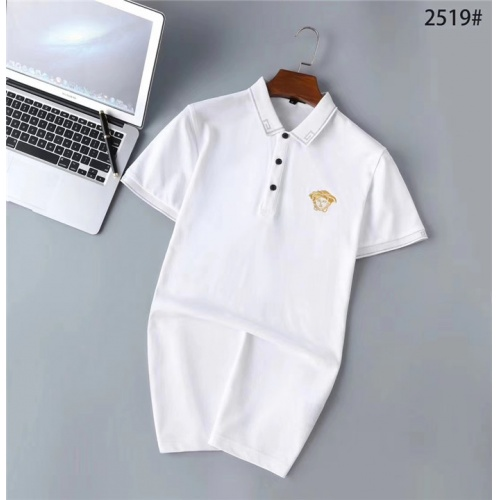 Versace T-Shirts Short Sleeved Polo For Men #771914