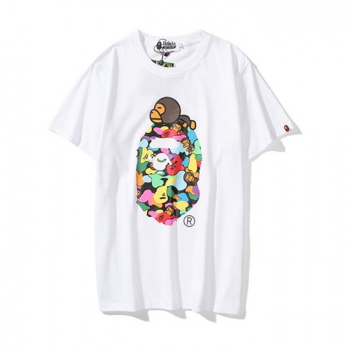 Aape T-Shirts Short Sleeved O-Neck For Men #771951 $24.25 USD, Wholesale Replica Aape T-Shirts