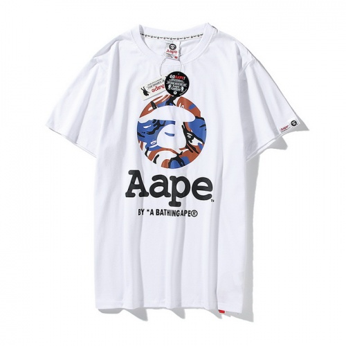 Aape T-Shirts Short Sleeved O-Neck For Men #771956 $24.25 USD, Wholesale Replica Aape T-Shirts