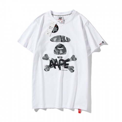 Aape T-Shirts Short Sleeved O-Neck For Men #771960 $24.25, Wholesale Replica Aape T-Shirts
