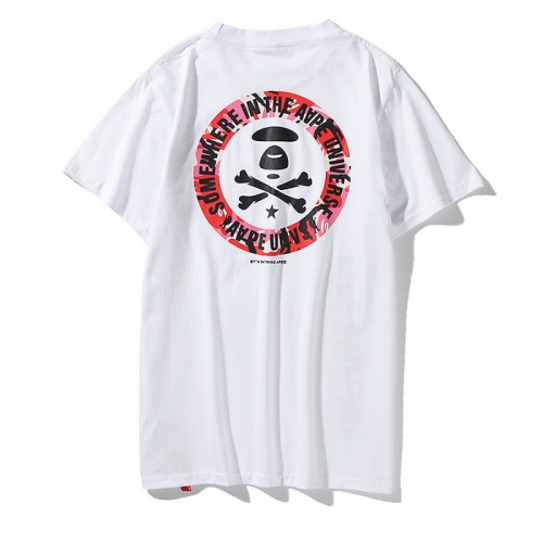 Replica Aape T-Shirts Short Sleeved O-Neck For Men #771963 $24.25 USD for Wholesale