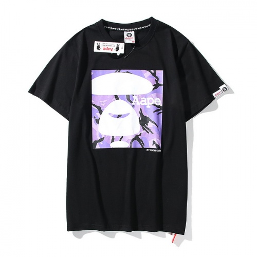 Aape T-Shirts Short Sleeved O-Neck For Men #771964 $24.25 USD, Wholesale Replica Aape T-Shirts