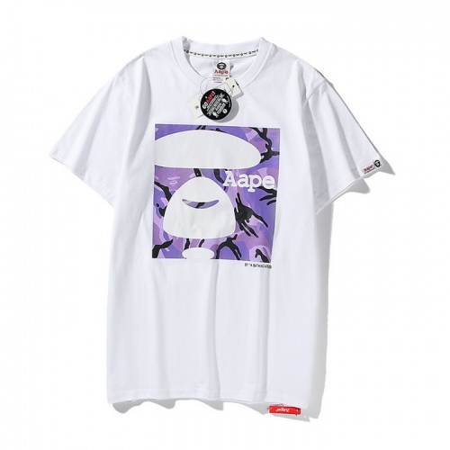 Aape T-Shirts Short Sleeved O-Neck For Men #771965 $24.25 USD, Wholesale Replica Aape T-Shirts
