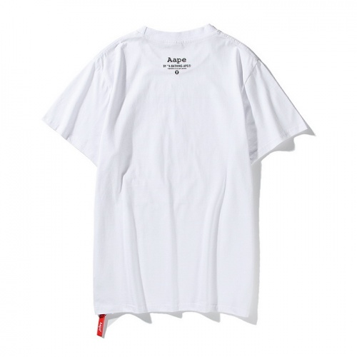 Replica Aape T-Shirts Short Sleeved O-Neck For Men #771965 $24.25 USD for Wholesale