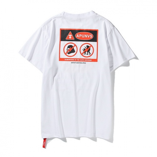 Replica Aape T-Shirts Short Sleeved O-Neck For Men #771966 $24.25 USD for Wholesale
