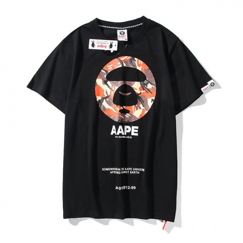 Aape T-Shirts Short Sleeved O-Neck For Men #771967 $24.25 USD, Wholesale Replica Aape T-Shirts