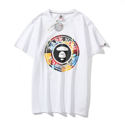 Aape T-Shirts Short Sleeved O-Neck For Men #771969 $24.25 USD, Wholesale Replica Aape T-Shirts