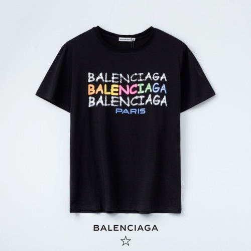 Balenciaga T-Shirts Short Sleeved O-Neck For Women #771973