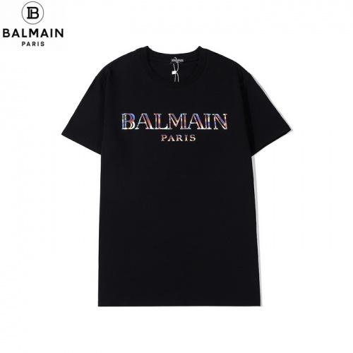 Balmain T-Shirts Short Sleeved O-Neck For Men #771977