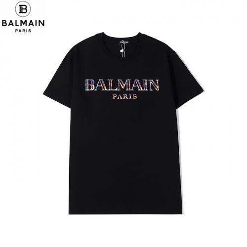 Balmain T-Shirts Short Sleeved O-Neck For Men #771977