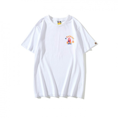 Replica Bape T-Shirts Short Sleeved O-Neck For Men #771981 $24.25 USD for Wholesale