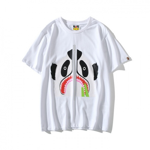 Bape T-Shirts Short Sleeved O-Neck For Men #771993 $24.25 USD, Wholesale Replica Bape T-Shirts