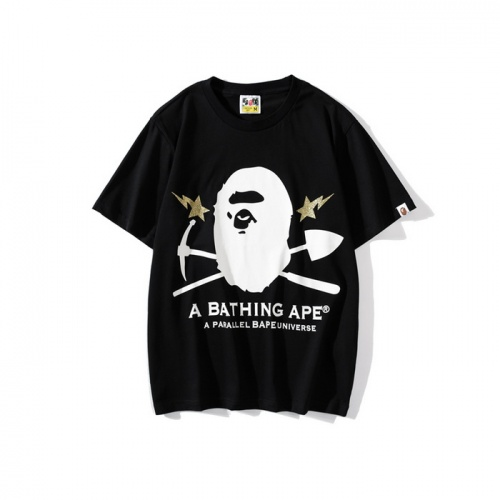 Bape T-Shirts Short Sleeved O-Neck For Men #772008 $26.19 USD, Wholesale Replica Bape T-Shirts
