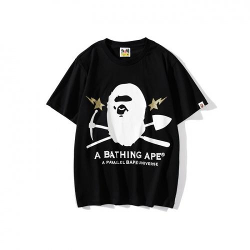 Bape T-Shirts Short Sleeved O-Neck For Men #772008