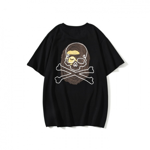 Replica Bape T-Shirts Short Sleeved O-Neck For Men #772011 $26.19 USD for Wholesale