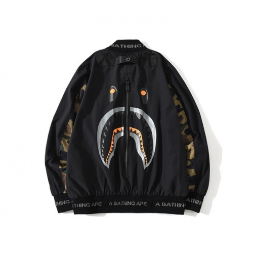 Bape Jackets Long Sleeved Zipper For Men #772019