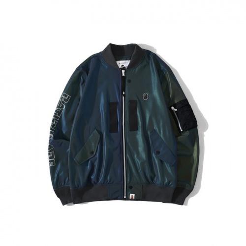 Bape Jackets Long Sleeved Zipper For Men #772020