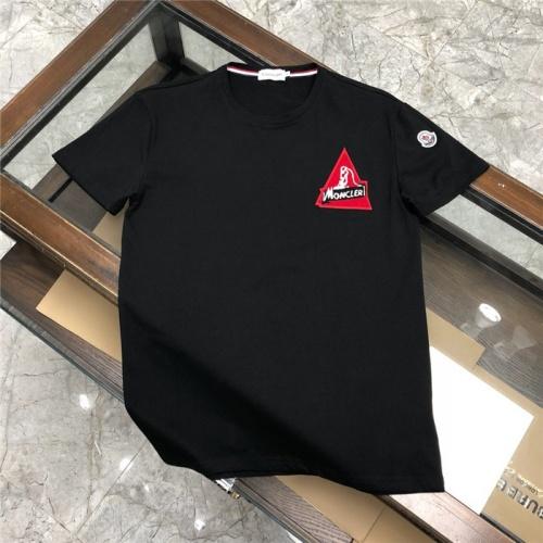 Moncler T-Shirts Short Sleeved O-Neck For Men #772250