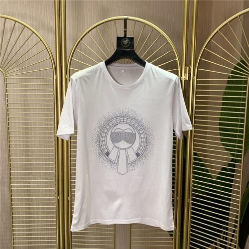 Fendi T-Shirts Short Sleeved O-Neck For Men #772273