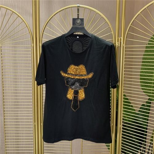 Fendi T-Shirts Short Sleeved O-Neck For Men #772286