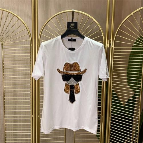 Fendi T-Shirts Short Sleeved O-Neck For Men #772287