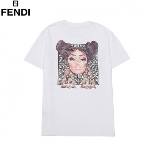 Fendi T-Shirts Short Sleeved O-Neck For Men #772454