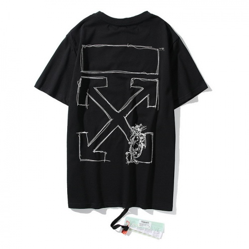 Off-White T-Shirts Short Sleeved O-Neck For Men #772556
