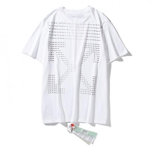 Off-White T-Shirts Short Sleeved O-Neck For Men #772560