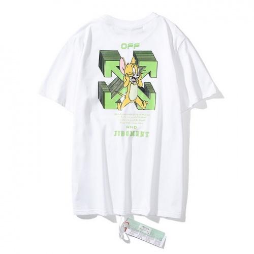Off-White T-Shirts Short Sleeved O-Neck For Men #772567