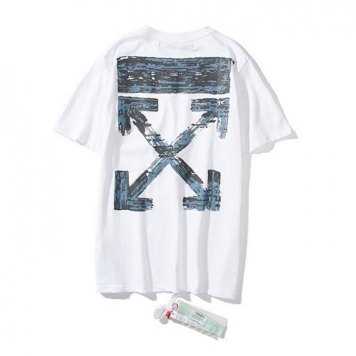 Off-White T-Shirts Short Sleeved O-Neck For Men #772570