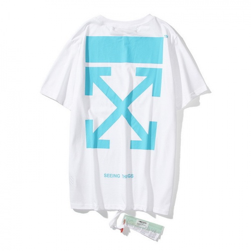 Off-White T-Shirts Short Sleeved O-Neck For Men #772574