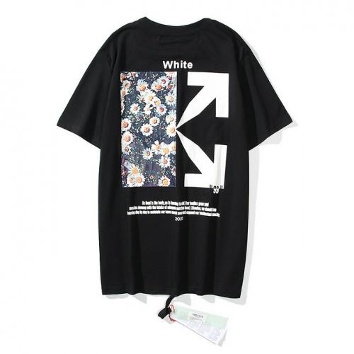 Off-White T-Shirts Short Sleeved O-Neck For Men #772580