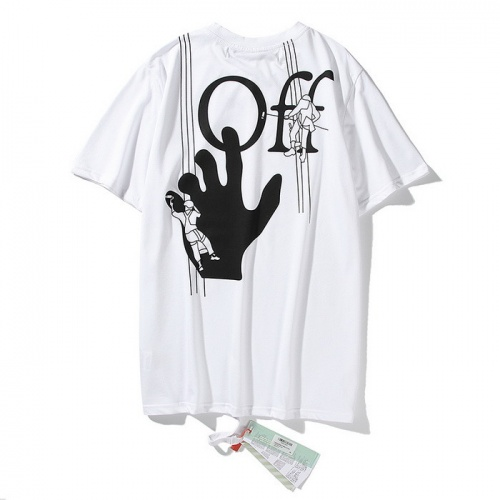 Off-White T-Shirts Short Sleeved O-Neck For Men #772586