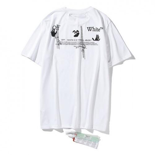 Off-White T-Shirts Short Sleeved O-Neck For Men #772588