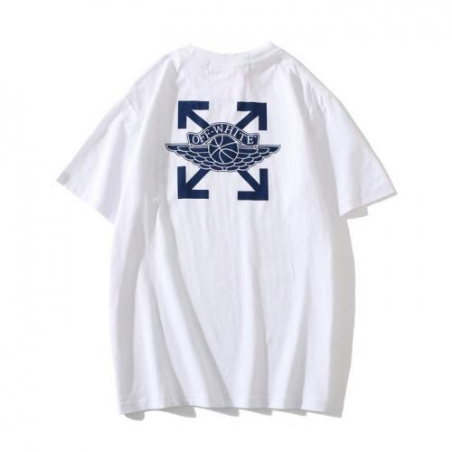 Off-White T-Shirts Short Sleeved O-Neck For Men #772597