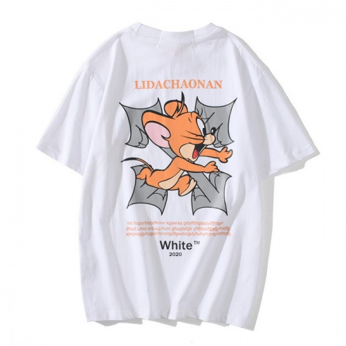 Off-White T-Shirts Short Sleeved O-Neck For Men #772603