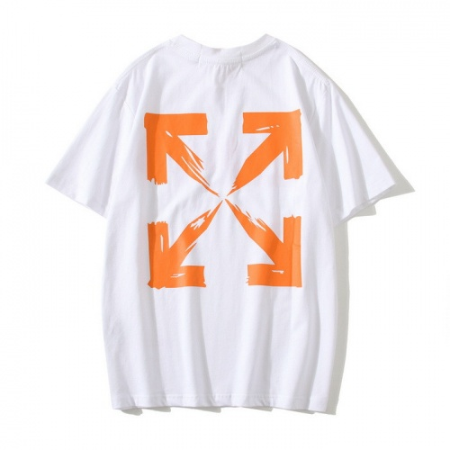 Off-White T-Shirts Short Sleeved O-Neck For Men #772606