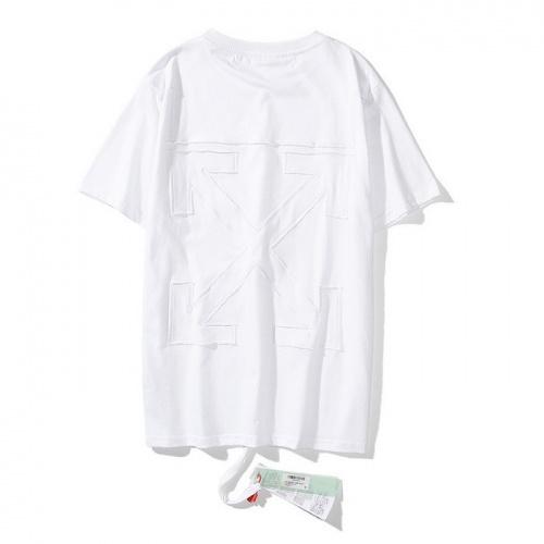 Off-White T-Shirts Short Sleeved O-Neck For Men #772619