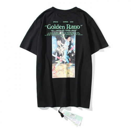 Off-White T-Shirts Short Sleeved O-Neck For Men #772621