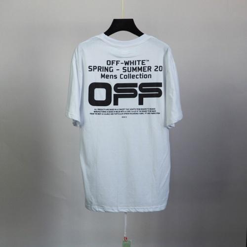 Off-White T-Shirts Short Sleeved O-Neck For Men #772624