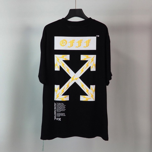Off-White T-Shirts Short Sleeved O-Neck For Men #772628