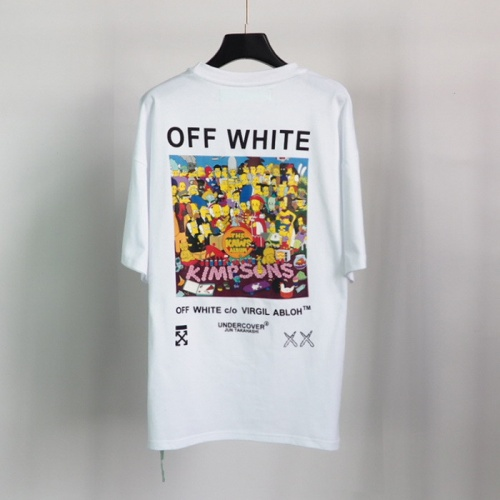 Off-White T-Shirts Short Sleeved O-Neck For Men #772629