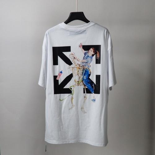 Off-White T-Shirts Short Sleeved O-Neck For Men #772633