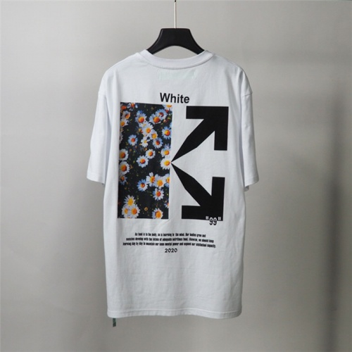 Off-White T-Shirts Short Sleeved O-Neck For Men #772637