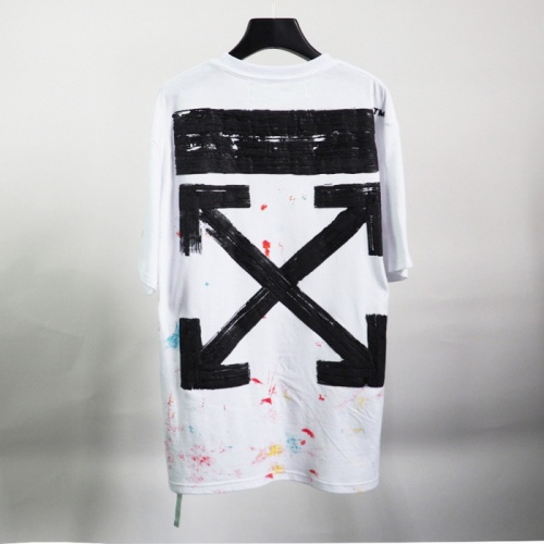 Off-White T-Shirts Short Sleeved O-Neck For Men #772645